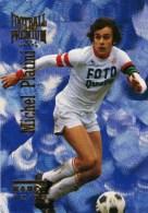 Carte Panini Football Premium Nancy Michel Platini - Edizione Francese