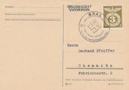 GRAZ - 1943 , 10 Jahre Machtübernahme - Deutschland