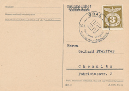 GRAZ - 1943 , 10 Jahre Machtübernahme - Alemania