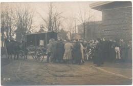 OLDENBURG - 2 Carte Photo - Enterrement De Genetay,  Prisonnier De Guerre 1916 - Corbillard, Couronnes - Oldenburg