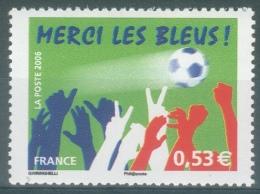 "France, Soccer, Football, ""Merci Les Bleus"", 2006, MNH VF - Frankrijk"