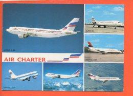 Avion - AIR CHARTER - Airbus A 300 BOeing B. 737 Et B-747 - 1946-....: Ere Moderne