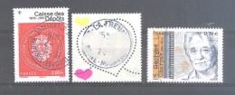 France Oblitérés (Caisse Des Dépôts - Coeur De Courrèges à 1,40 € - Georges Charpak) (cachet Rond) - France
