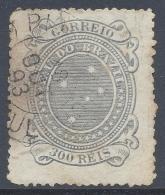 BRAZIL  1889 300r GREEY BLUE Nº 72a - Brésil