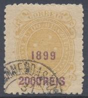 BRAZIL  1899 2000r YELLOW Nº 111 - Brésil