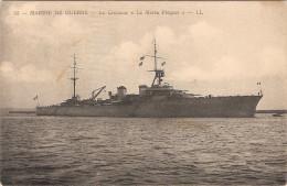 CPA Marine De Guerre Le Croiseur La Motte Picquet Militariat Bateau - Guerra