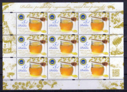 Polen Klb. 'Bienen U. Honig' / Poland Sh. 'Bees & Honey' **/MNH 2016 - Abeilles
