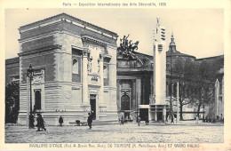 75] Paris 1925-Exposition Internationale Des Arts Décoratifs PAVILLONS D'ITALIE Du TOURISME*PRIX FIXE - Expositions