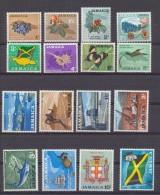 Jamaïque - Jamaica 1964 Série Courante Sujets Divers  Fil A    1p Au 1£  MLH * - Jamaique (1962-...)