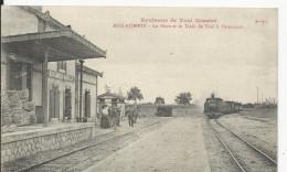 Royaumeix  Train Entrant En Gare          Tres Bon Etat - Otros Municipios