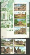 The Most Important Khmer Temples Of Thailand (Phimai,Prasat Phnom Rung) Miniature Sheet + Complete Set Mint ** - Thailand