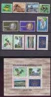 Jamaïque - Jamaica 1966  Année Complète MLH * Sauf Jeux Du Commonwealth + BF  MNH *** - Jamaique (1962-...)