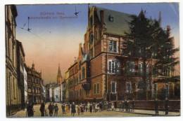 Allemagne--DUEREN-DUREN-1927--Zehnthofstrasse Mit Gymnasium (très Animée) ....à Saisir - Dueren