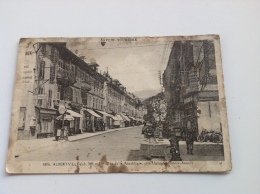 1806 - ALBERTVILLE Rue De La Republîque Coté Ugine Chamonix Annecy - - La Motte Servolex