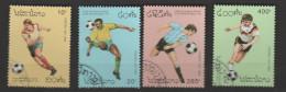 LAOS  ,N°1107 /1110  Coupe Du Monde San-Francisco 94 - World Cup