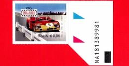 Nuovo - MNH - ITALIA - 2016 -  100ª Edizione Della Targa Florio - Alfa Romeo 33 TT3 Del 1972 - 0,95 € - Alfanumerico - 6. 1946-.. Repubblica