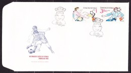 CZECHOSLOVAKIA 1982, UNUSED FDC COVERS. Michel 2648-2650. WORLD CHAMPIONSHIP IN SPAIN. Good Condition, See The Scans. - 1982 – Espagne