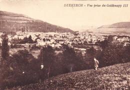 DIEKIRCH LUXEMBOURG ( VUE PRISE DU GOLDKNAPP ) - Diekirch