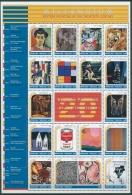 Togo 1999 Millennium Malerei Des 20. Jh. 2923/39 ZD-Bogen Postfrisch (SG23413) - Togo (1960-...)