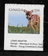 CANADA 2013, # 2609, BABY WILDLIFE   FAWN MNH - Carnets