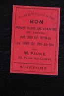 Bon Societe Saint Vincent De Paul St Jerome - Bonds & Basic Needs
