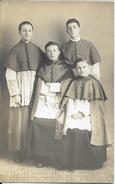 Morteau C.1910 Enfants De Coeur Enfant église Carte Photo - Altri Comuni