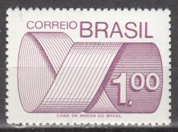 BRAZIL   SCOTT NO.  1257    MNH     YEAR  1972 - Unused Stamps