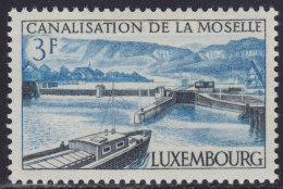 4852. Luxembourg 1964 Canalization Of The Moselle, MNH (**) Michel 696 - Luxembourg