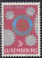4857. Luxembourg 1965, 60 Years Of Rotary International, MNH (**) Michel 709 - Luxembourg