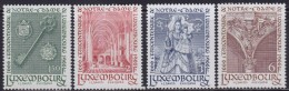 4861. Luxembourg 1966 Notre-Dame Cathedral, MNH (**) Michel 729-732 - Luxembourg