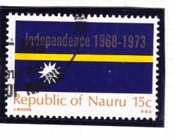 Nauru 1973 Independence Flag - Fine Used & MH - Nauru
