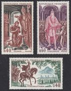 FRANCE Francia Frankreich - 1966 - Serie Completa Yvert 1495/1497, Nuovi E Perfetti - Neufs