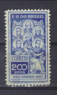 Brésil   N° 144*  MH  (1909) - Nuevos