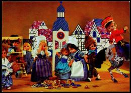 5737 - Alte Glückwunschkarte - Märchen - König Drosselbart - Königseer Puppen Puppe - TOP - DDR 1984 - Jeux Et Jouets
