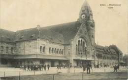 """/ CPA FRANCE 57 """"Metz, Gare"""" - Metz"""