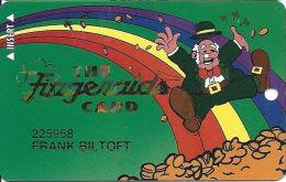 Fitzgerald´s Casino Las Vegas, NV - 6th Issue Slot Card - PPC Over Mag Stripe - Casino Cards