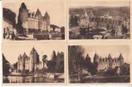 Dep 56 - Château De Josselin - 10 Cartes  : Achat Immédiat - Autres Communes