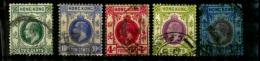 Hong Kong Scott N° 114.87.111.139.143..oblitérés - Hong Kong (...-1997)