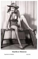 MARILYN MONROE - Film Star Pin Up PHOTO POSTCARD- Publisher Swiftsure 2000 (201/333) - Non Classés