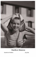 MARILYN MONROE - Film Star Pin Up PHOTO POSTCARD- Publisher Swiftsure 2000 (201/298) - Non Classés