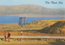 ISRAEL--THE DEAD SEA --voir  2 Scans - Israel