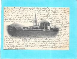 BILLOM - 63 - CPA DOS SIMPLE  - Eglise Saint Loup -- ENCH -  Lire Le Texte - - Francia
