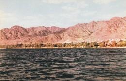 ISRAEL--JERICHO JORDAN  THE DEAD SEA --voir  2 Scans - Israël