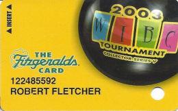 Fitzgerald´s Casino Reno, NV - Slot Card - 2003 WIBC Tournament Collector Series V - Casino Cards