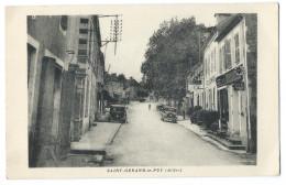 SAINT-GÉRAND-LE-PUY (Allier, 03)  Hotel - Panneaux Publicité Huiles Renault, Spido - Animée - Autres Communes