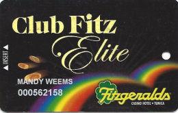 Fitzgerald´s Casino Tunica, MS - Elite Slot Card - Hologram Club Fitz - Casino Cards