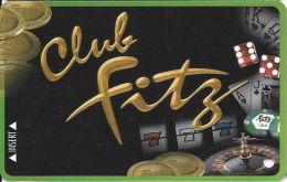Fitzgerald´s Casino Tunica, MS - Slot Card  (BLANK) - Casino Cards