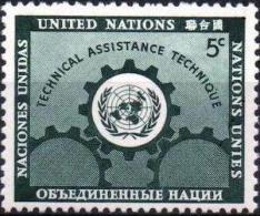 ONU UNO NEW YORK ** MNH Poste  20 Assistance Technique Pays Sous-développés (CV 3,85 €) - Ungebraucht
