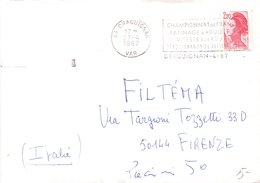 FRANCE PATINAGE A ROULETTES DRAGOUIGNAN 1987  (SET160093) - Pattinaggio Artistico