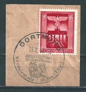 MiNr. 829 Auf Briefstück Mit Sonderstempel DORTMUND (05) - Deutschland